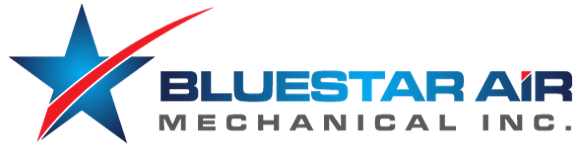 BlueStar Air Mechanical Inc. Logo
